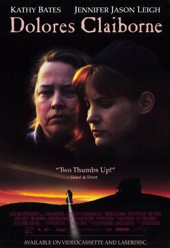 Dolores Claiborne 1995 Movie Posters Dolores Claiborne Stephen King Movies