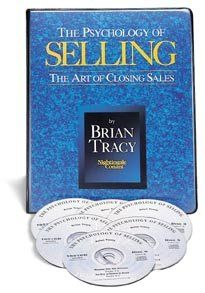 The Psychology Of Selling By Brian Tracy Nightingale Conant Things To Sell Psychology Brian Tracy