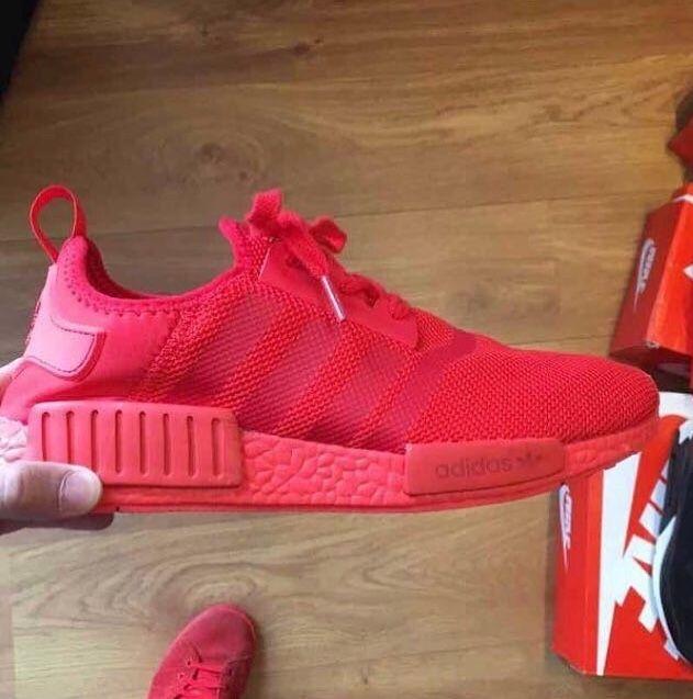 5722b4afe6 Tênis Adidas NMD vermelho