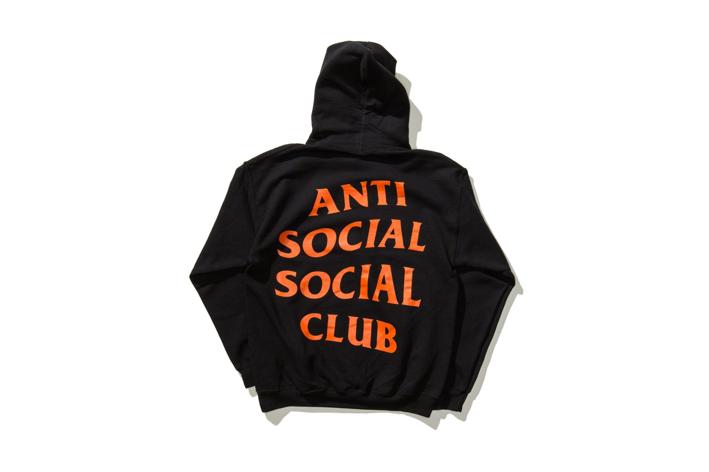 The Undefeated X Anti Social Social Club Collaboration Channels Paranoia Anti Social Social Club Anti Social Social Club Hoodie Anti Social