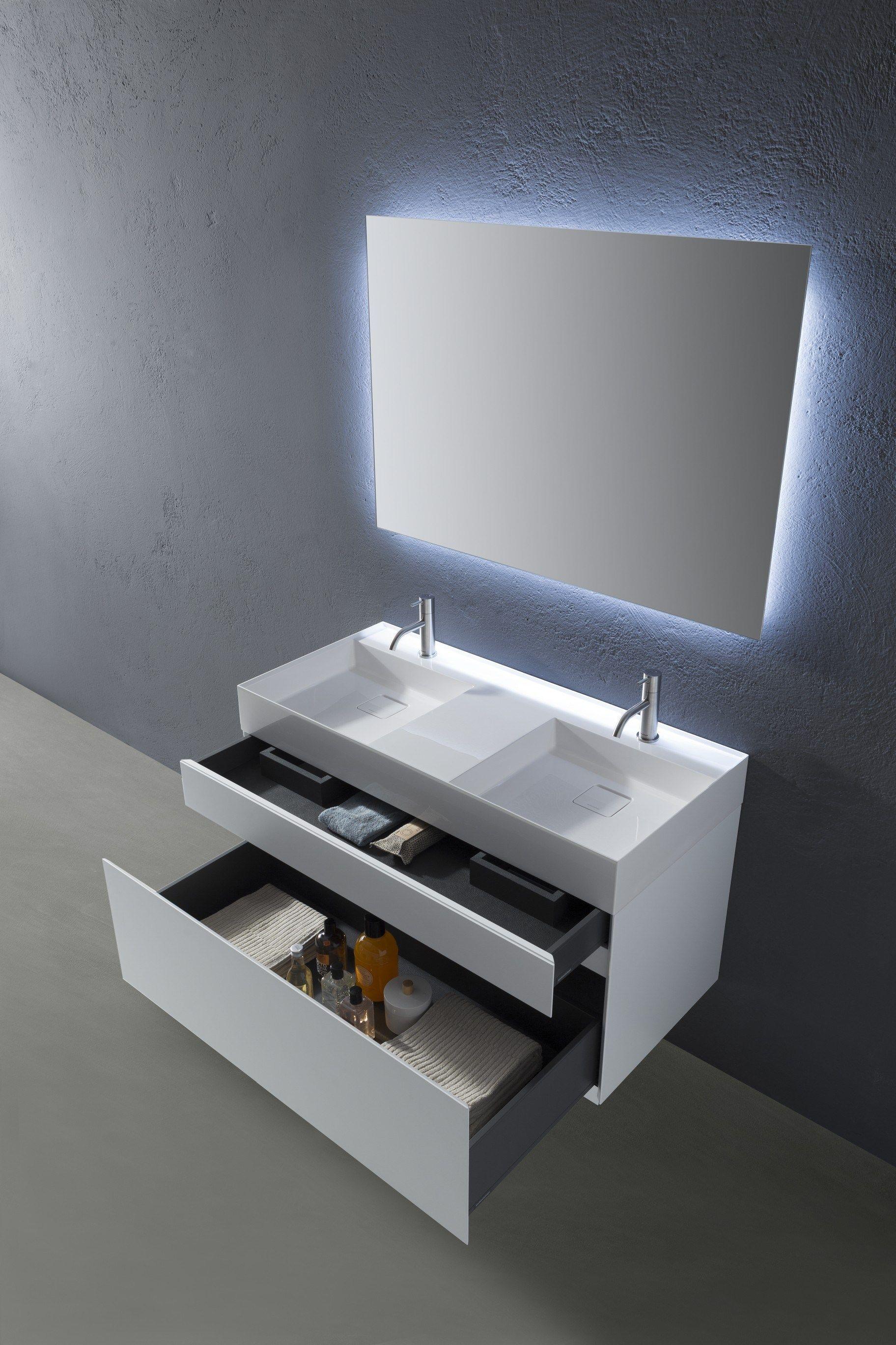 Graffio waschtischunterschrank by antonio lupi design for Design waschtischunterschrank