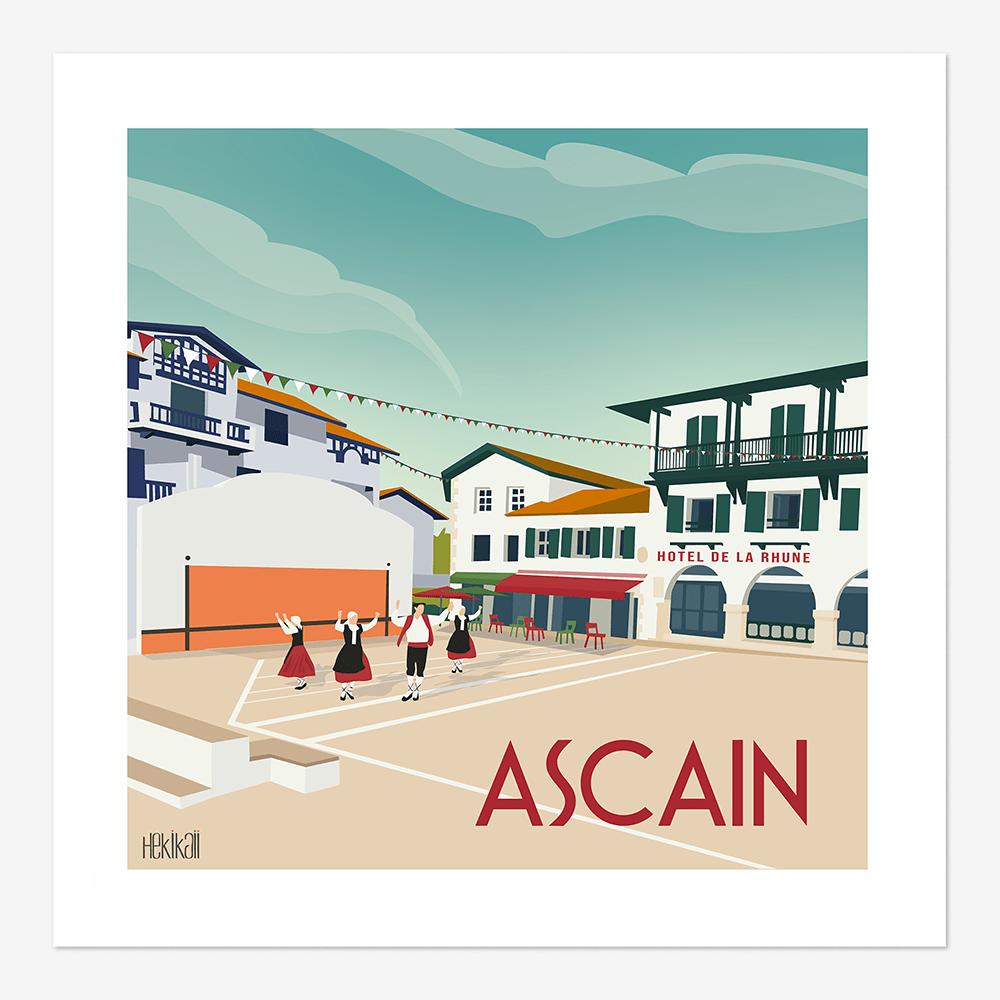 Epingle Sur Affiches Pays Basque