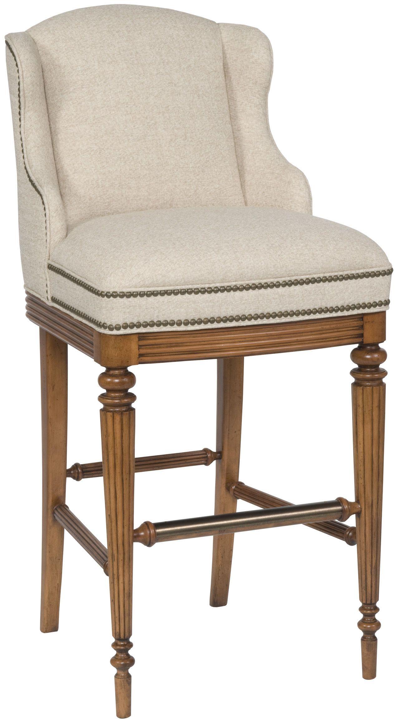 Vanguard Dining Room Wing Bar Stool V61 BS   Vanguard Furniture   Conover,  NC (kitchen Island Chairs I Love)