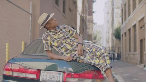 Pharrell Williams estará live en los premios Óscar.
