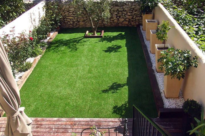 Comienzos de un Jardin pequeño | Piletas | Pinterest | Jardines ...
