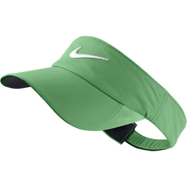 8751a12b Nike Women's Golf Visor - green, ONE SIZE ($11) ❤ liked on Polyvore ...