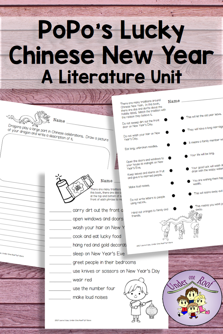 small resolution of Teach your 2nd and 3rd grade students all about Chinese New Year traditions  with this literature unit about…   Literature unit