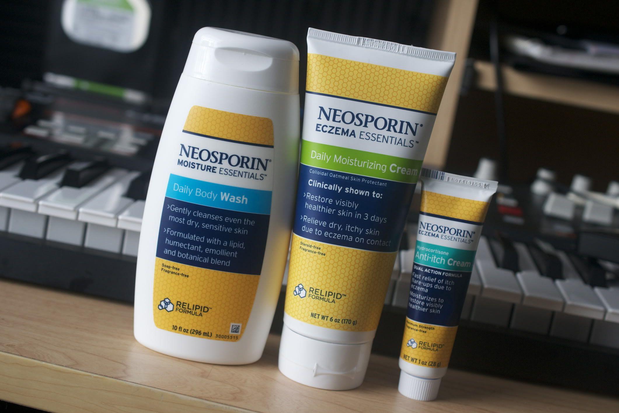 Got eczema? These products work! Neosporin Eczema Essentials review