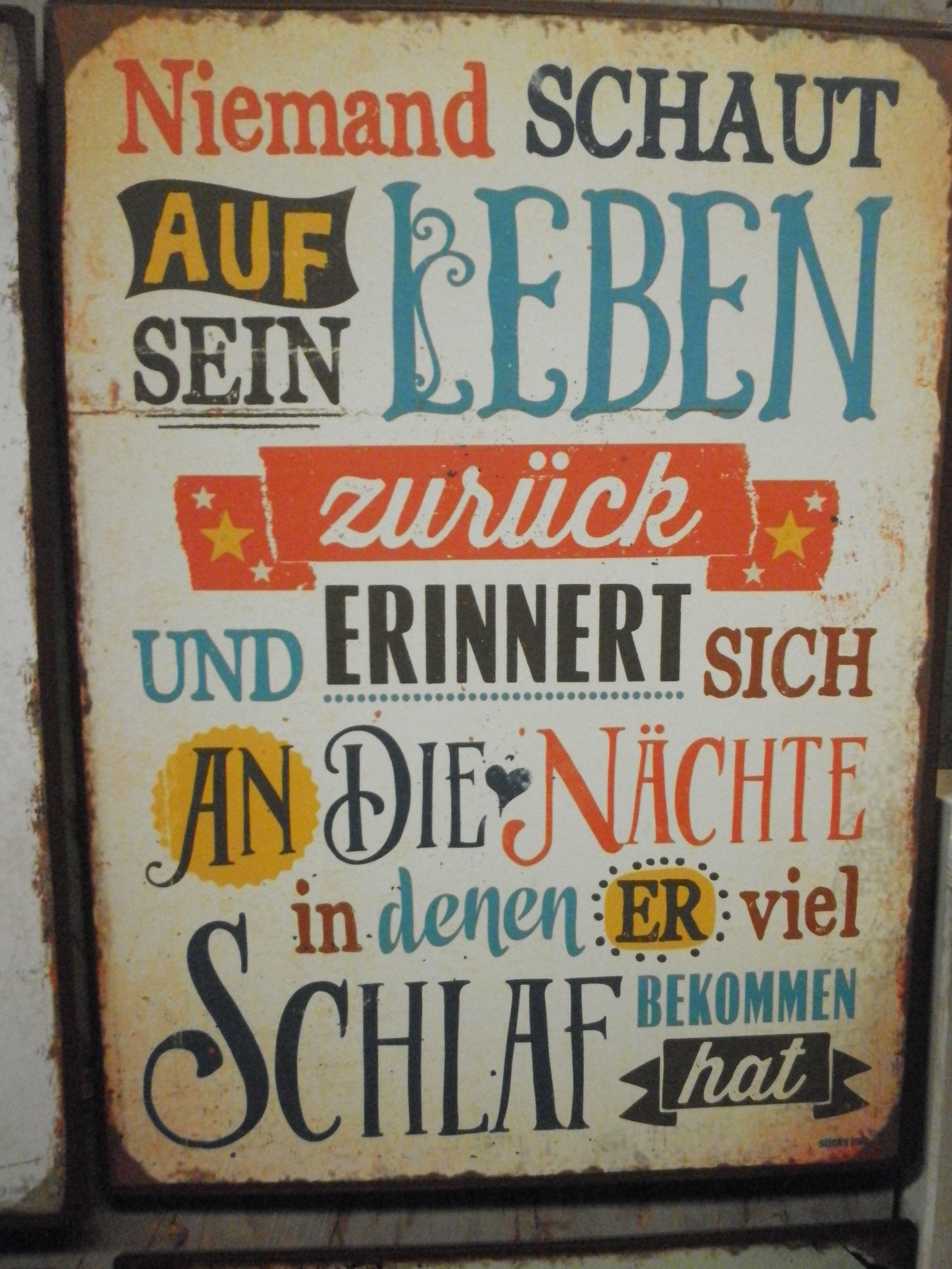 Blechschild | Blechschilder von Sticky Jam aus Hamburg | Schilder