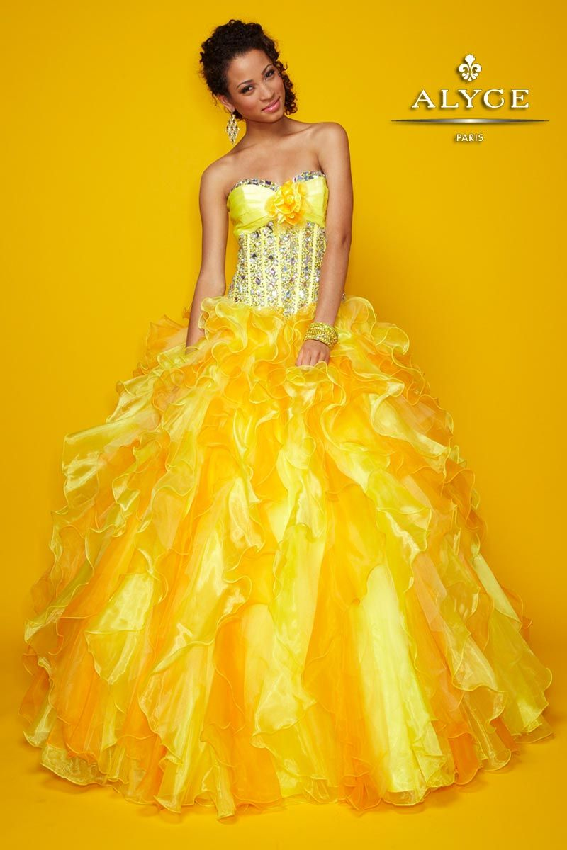 Quinceanera ball gowns by alyce paris you will shine
