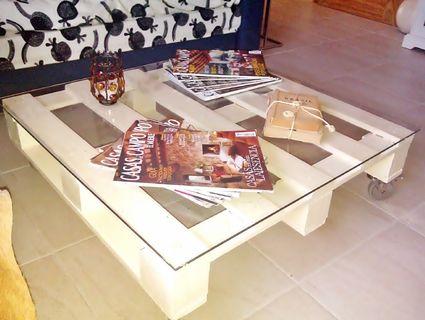 los palets en la decoracin de hogar pallets and pallet coffee tables
