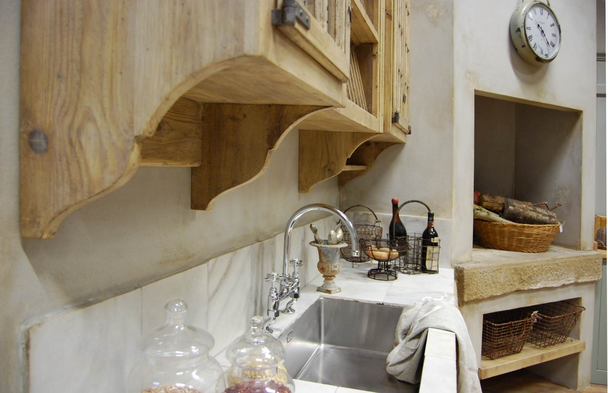 Cucina Shaker Stile Inglese Melodia - Cucine Belli | C Kitchen ...