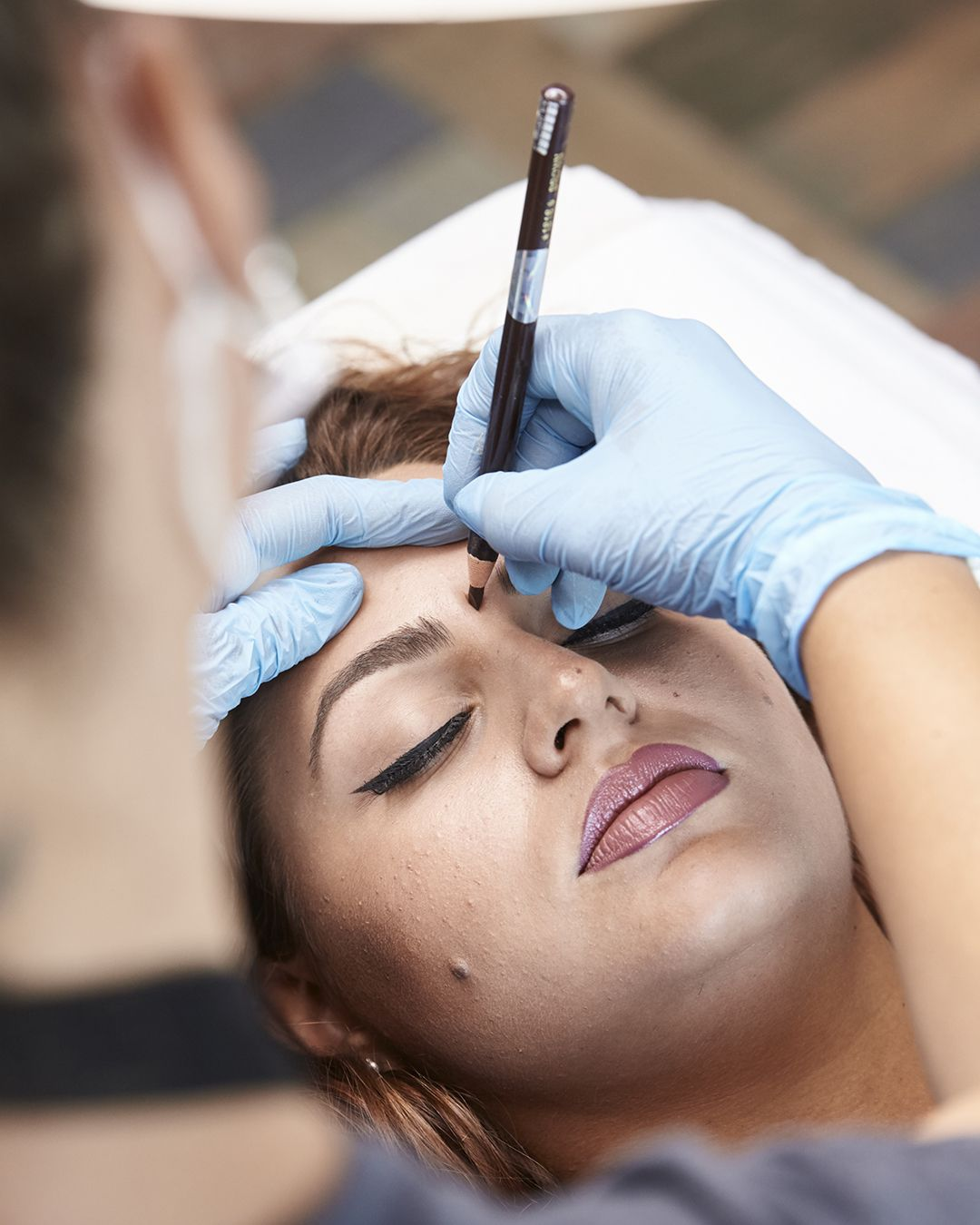 Your dream job? Giving people strong brows. a