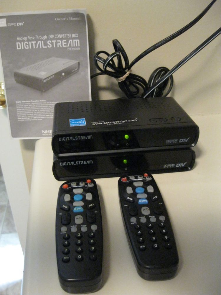 Digital Stream Digital-to-Analog Converter Box