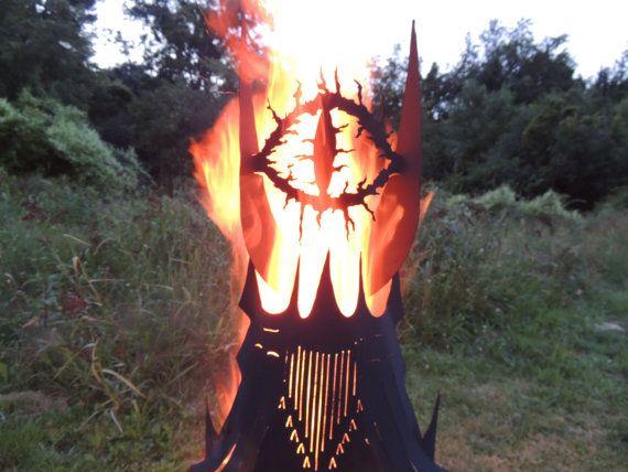 Marvelous Fire Pit Auge Turm Von ImagineMetalArt Auf Etsy