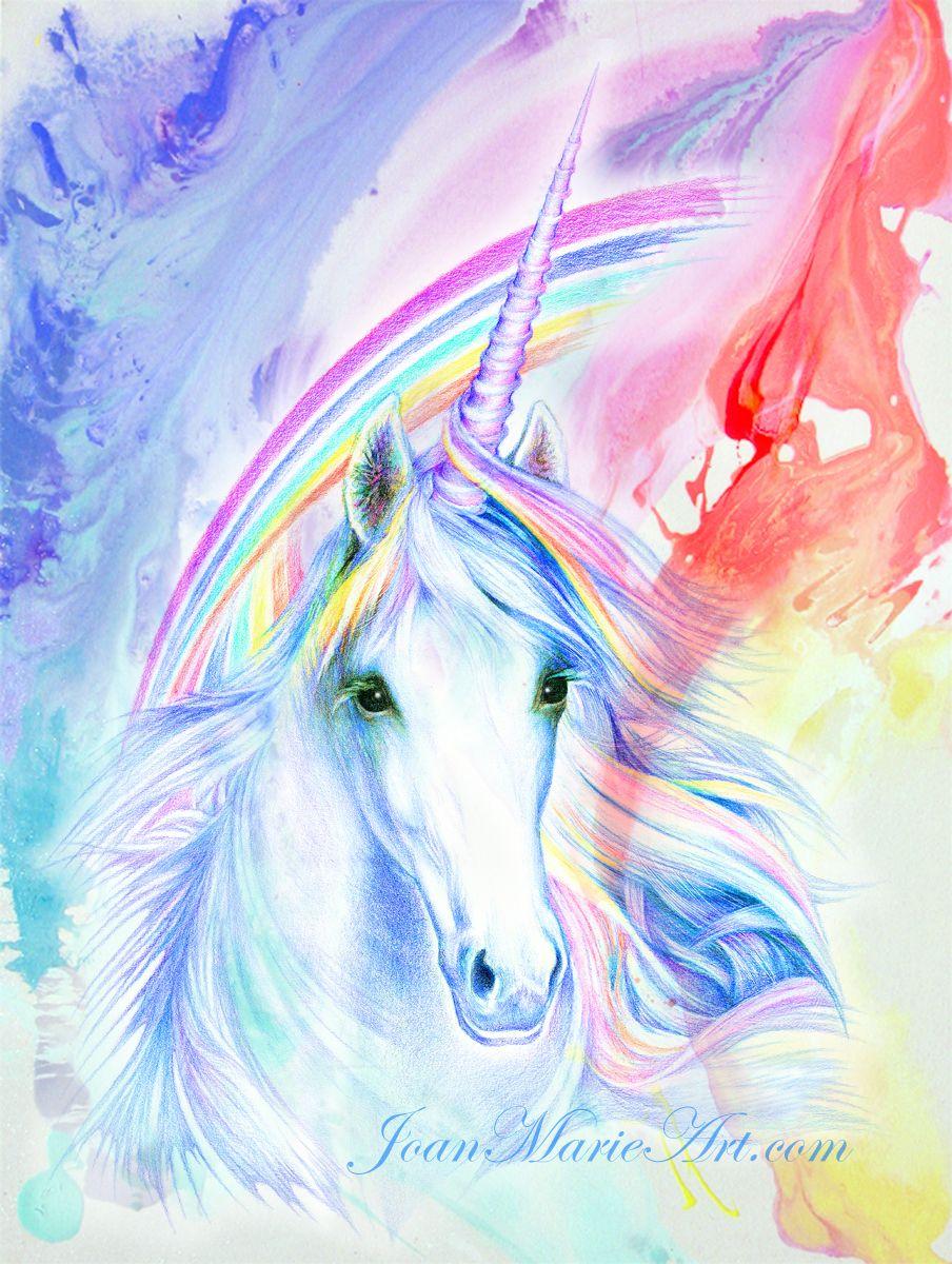 Unicorns And Fairies Real Unicorn and rai...