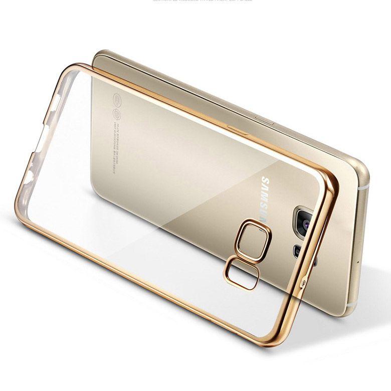 Per Samsung Galaxy A3 A5 A7 2016 A310 A510 J5 J7 Grand Prime S5 S6 S7 Caso Della Copertura Bordo Placcatura Telaio TPU Morbido Silicone Fundas