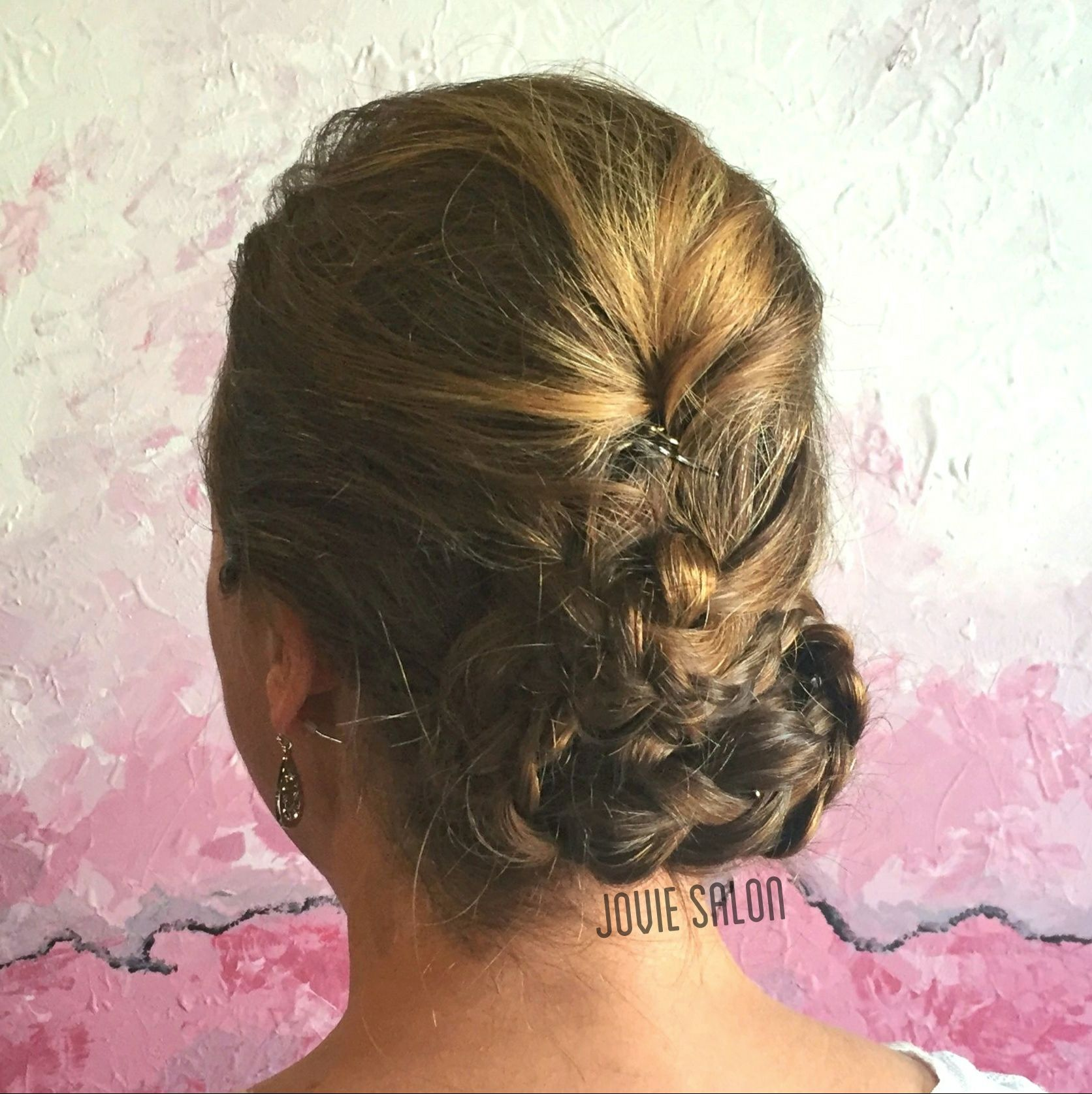 A modern take on a braided updo special occasions pinterest updo
