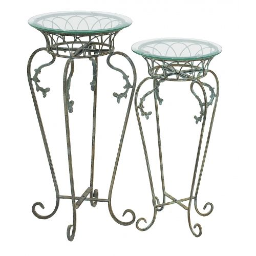 Verdigris Wrought Iron Plant Stand With Images Wrought Iron