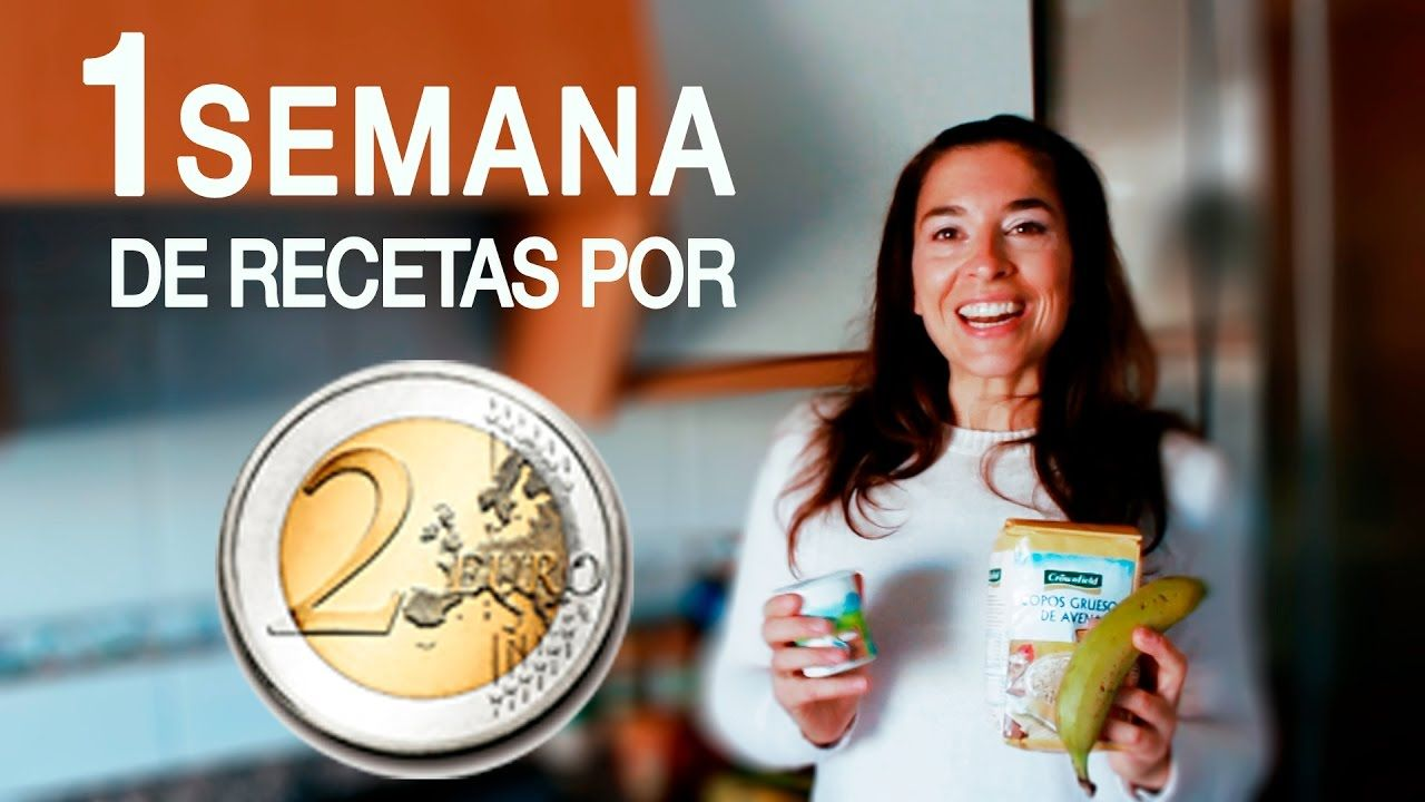 RETO: 1 Semana de recetas por 2€