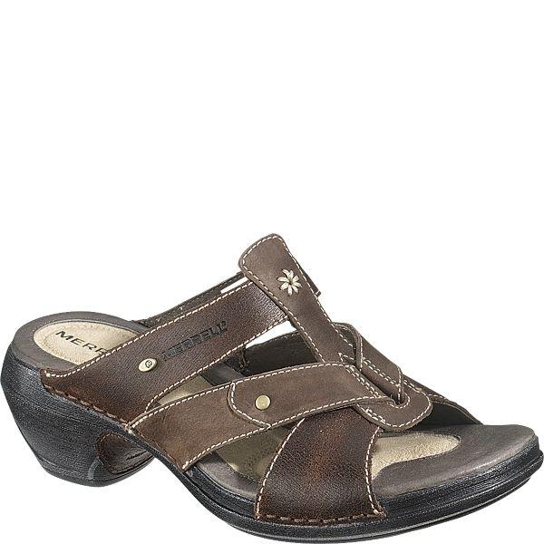 9b0164044d54 Merrell Luxe Slide Women s Sandals (8 M in Coffee)