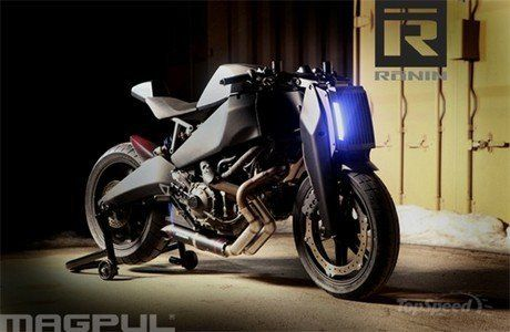 Ronin - Buell Power plant and chassis, re-imaged by Magpul in Boulder, Colorado