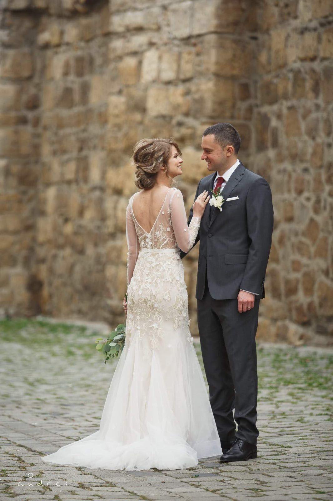 Together forever. #OtiliaBrailoiuAtelier #weddingdress