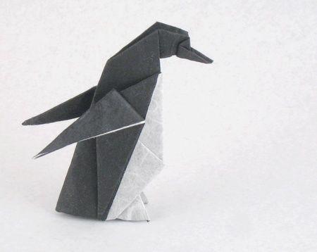 Origami Penguin – Origami Tutorials | 358x450