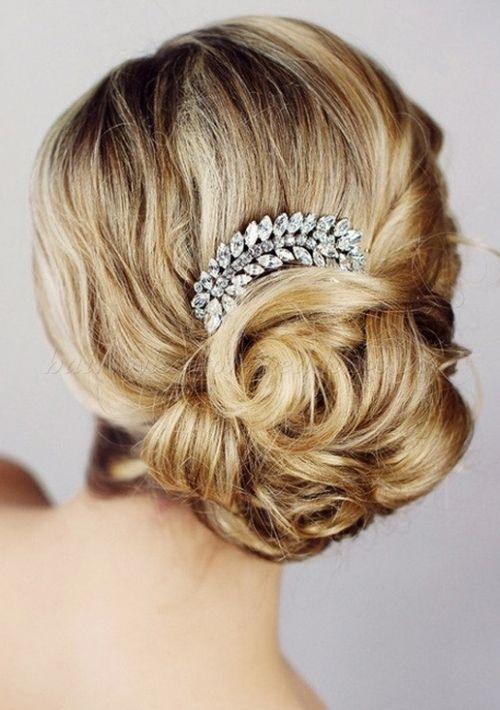 Chignon Wedding Hairstyles Low Bun Wedding Hairstyles