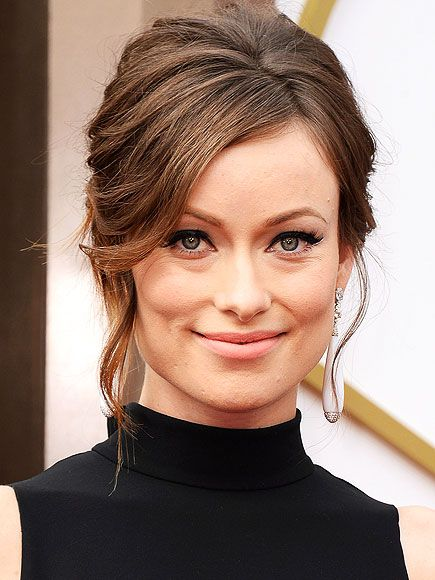 Olivia Wilde Front Hair Styles Wedding Hair Front French Twist