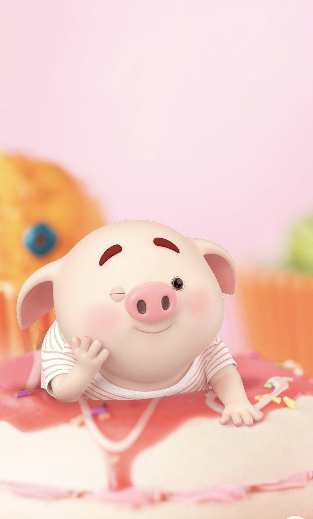 Pin De Smitty Ho Em 1 猪小屁 Eat Porcos Fofos Porquinhos Papel De Parede De Porco
