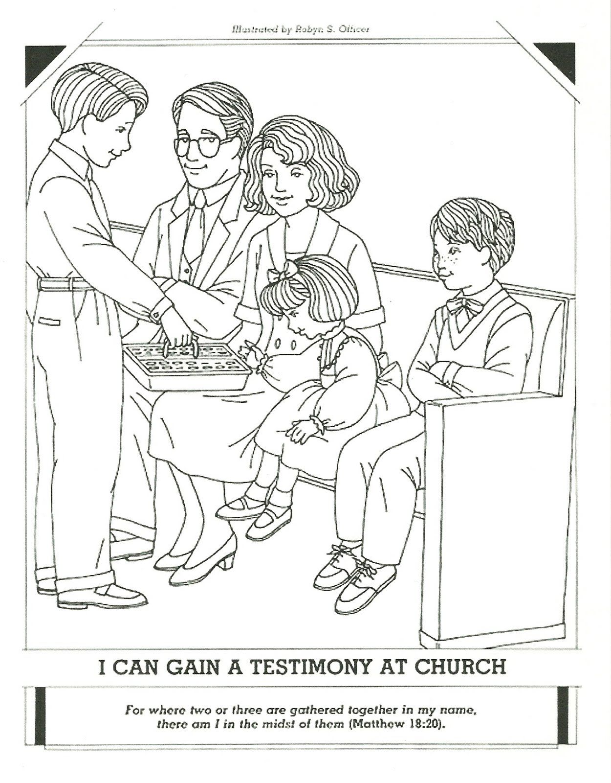 Primary 3 Manual Lesson 32 Remembering Jesus Christ When We Take ...