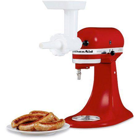 Kitchenaid Sausage Stuffer Kit Red