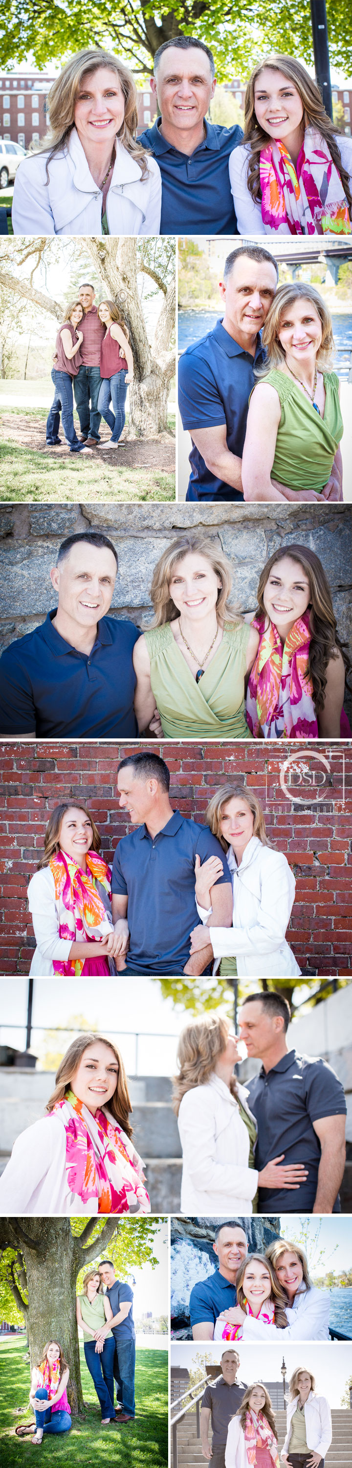 Family session by DSD Media Studios in Manchester NH