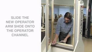 How To Replace A Casement Operator Straight Arm Andersen
