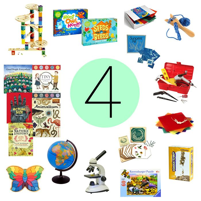 Montessori Gifts for a Four Year Old | Geschenk kind 4 ...