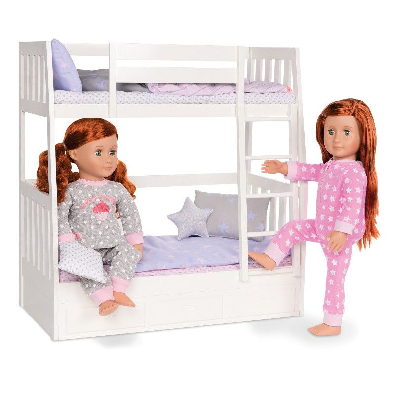Doll Bunk Beds American Girl Bed, Baby's Dream Furniture