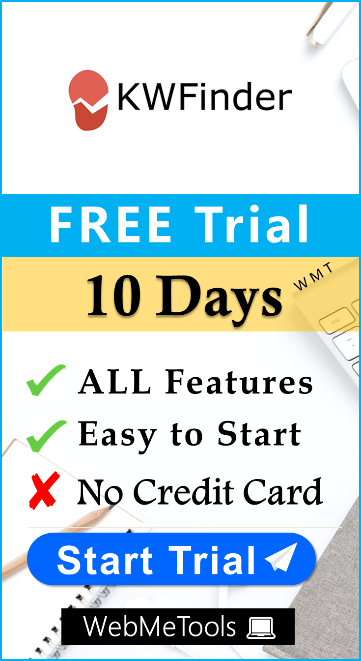 KWFinder Free Trial 2021 - Try 🆓 FREE KWFinder Trial SEO Tool for 14/30  Days Now.