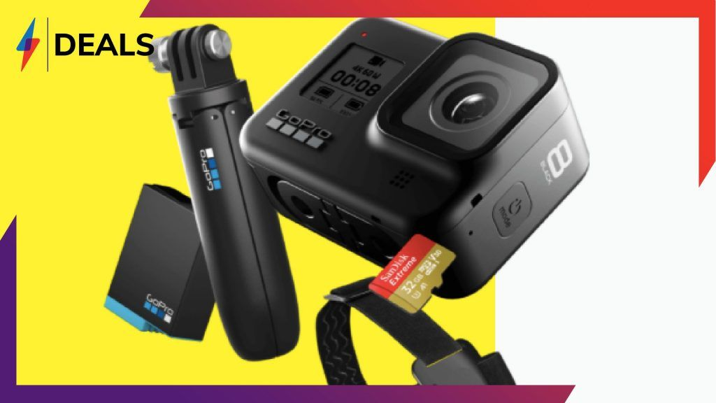 The Gopro Hero 8 Black Friday Bundle Is Back And It S A Bargain In 2020 Gopro Hero Gopro Newest Gopro