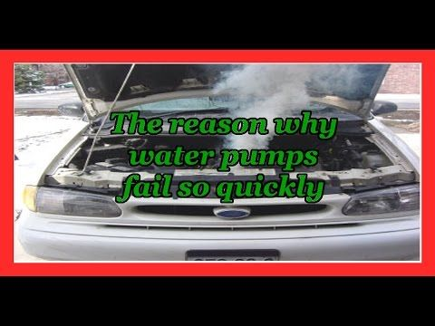 The reason why water pumps fail so quickly