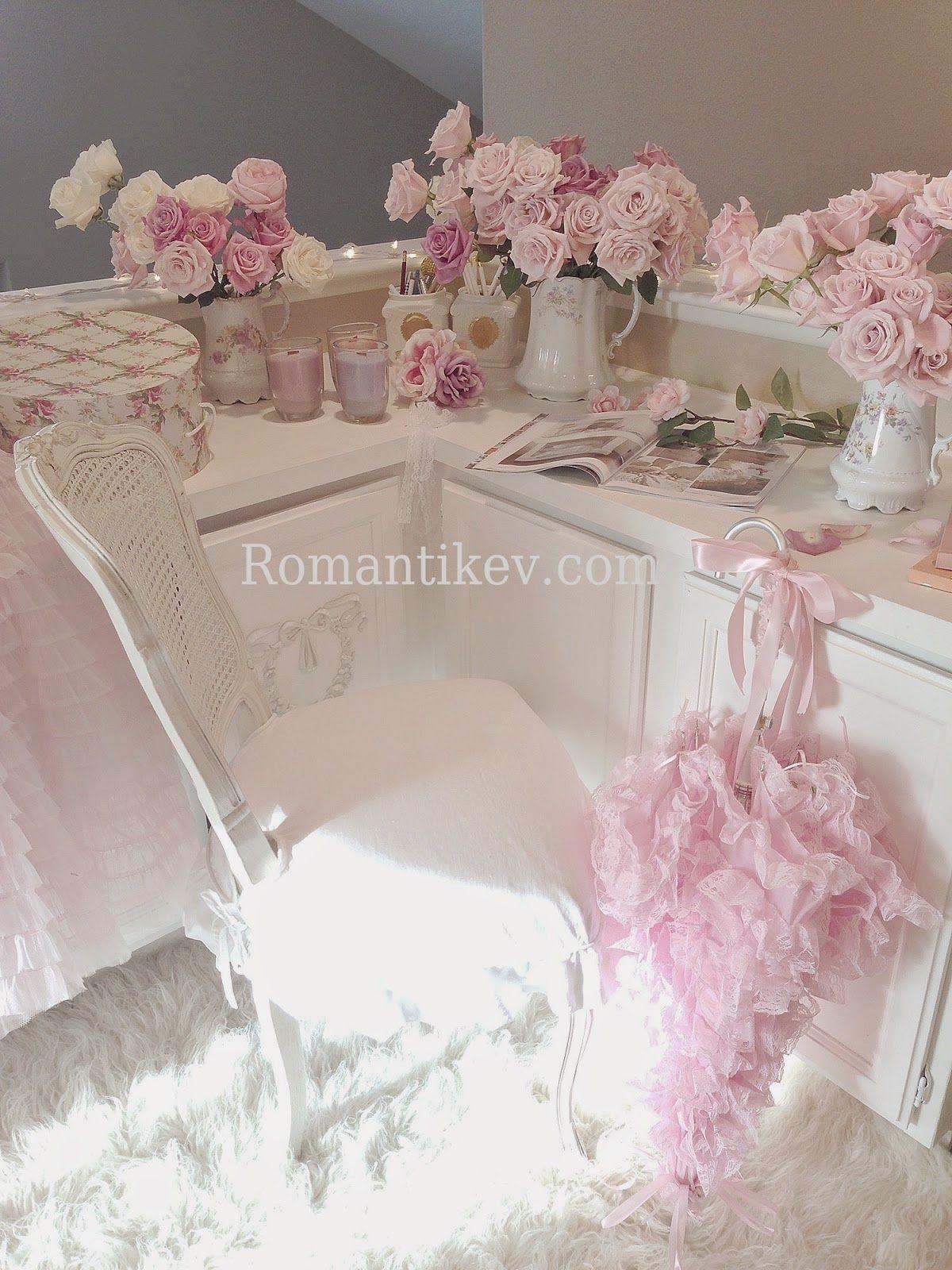 My Shabby Chic Home ~ Romantik Evim ~Romantik Ev +Romantik
