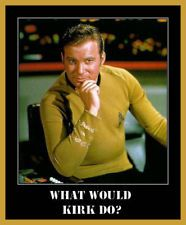 What Would Kirk Do funny Captain Enterprose Star Trek