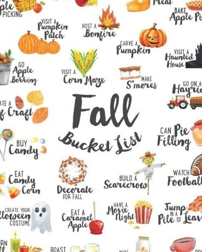 We ve combined our favorite ideas into this FREE Fall Bucket List which you can      #bucket #combined #fall #favorite #Free #ideas #list #Weve #which