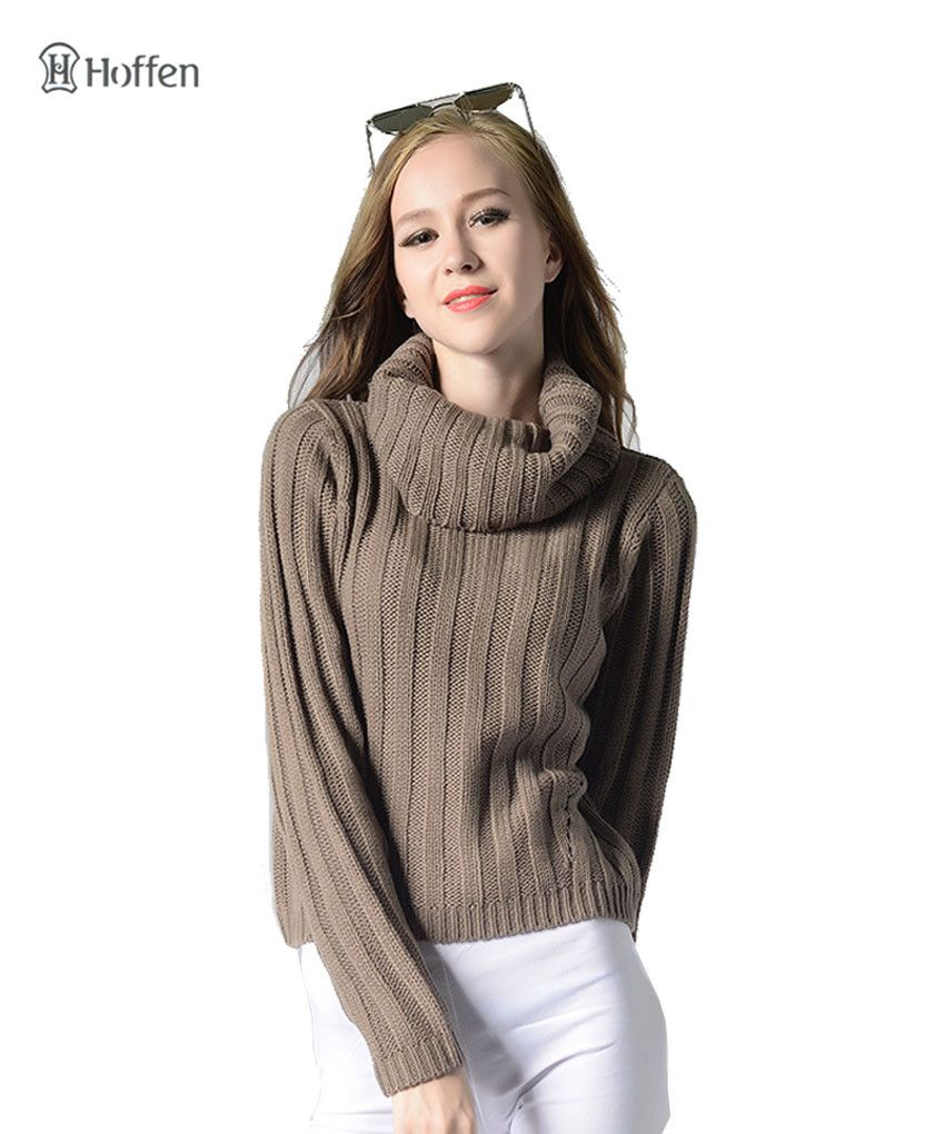 Find More Pullovers Information about Hoffen Women Turtleneck ...