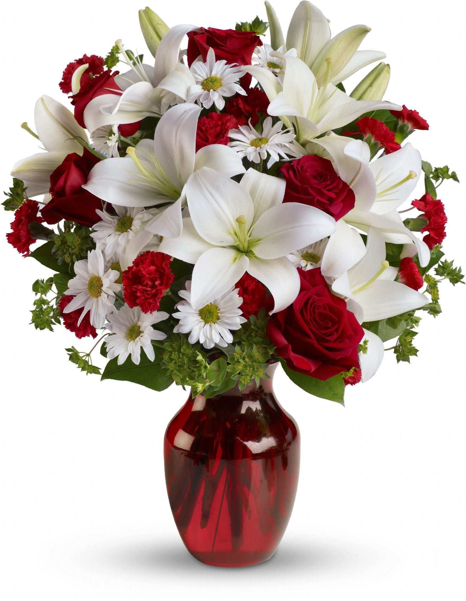 Be my love bouquet with red roses valentine flower