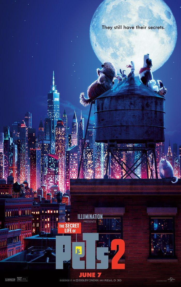 I love the colors of this city Secret life of pets