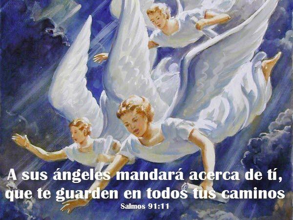 Los ángeles de Dios