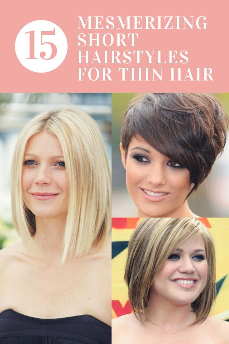 mesmerizing short hairstyles for thin hair to catch some eyes