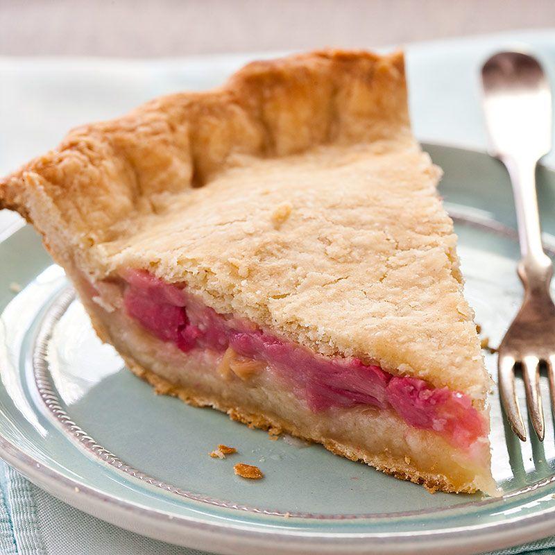Rhubarb Custard Pie Recipes Pictures