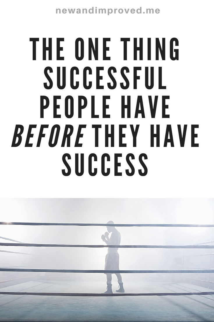 The ONE Thing Successful People Have Before They Have Success. Click on Pin image to read more. #life #motivation #business #self #positive